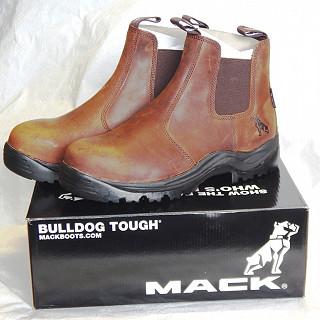 Mack Rider Safety Boots Dark Brown (1)